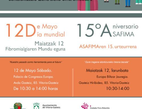 DÍA MUNDIAL 12 DE MAYO-15ºANIVERSARIO DE ASAFIMA