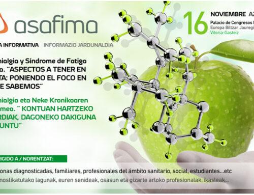 JORNADA INFORMATIVA FIBROMIALGIA Y SINDROME DE FATIGA CRÓNICA